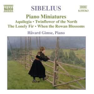 Sibelius: Piano Works Volume 4