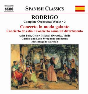 Rodrigo: Complete Orchestral Works, Vol. 3