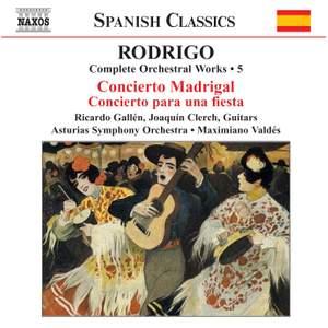 Rodrigo: Complete Orchestral Works, Vol. 5