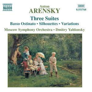 Arensky - Three Orchestral Suites Product Image