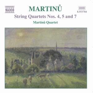 Martinu - String Quartets Vol. 3