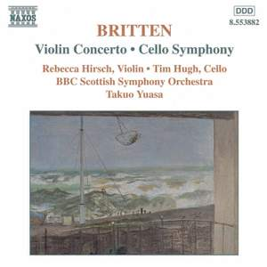 Britten: Violin Concerto in D minor Op. 15, etc.