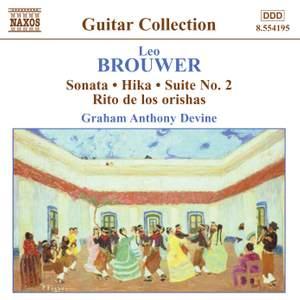 Brouwer - Guitar Music Volume 3