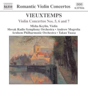 Vieuxtemps: Violin Concertos Nos. 5, 6 & 7 Product Image