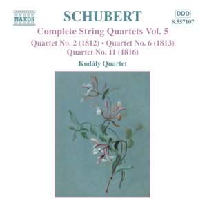 Schubert - Complete String Quartets Volume 5