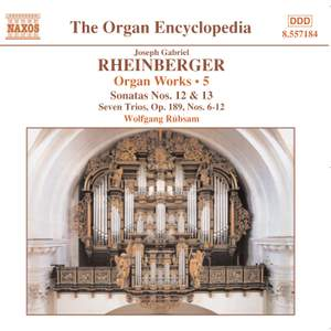 Rheinberger: Works For Organ, Vol. 5 Product Image