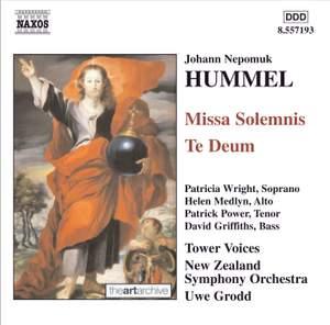 Hummel, J: Missa Solemnis in C major, etc.