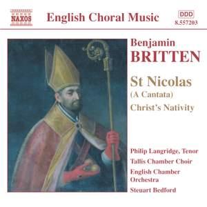 Britten: St Nicolas, Op. 42, etc.