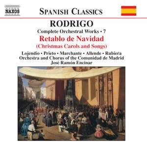 Rodrigo: Complete Orchestral Works, Vol. 7 Product Image