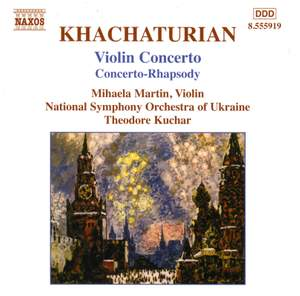 Khachaturian: Violin Concerto in D minor, etc. Product Image