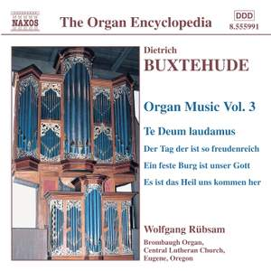 Buxtehude - Organ Music Volume 3 Product Image