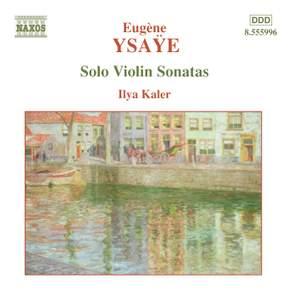 Ysaÿe: Six Sonatas for solo violin Op. 27 Product Image