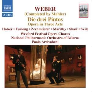 Weber: Die Drei Pintos (The Three Pintos) Product Image
