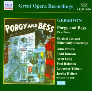 Gershwin: Porgy and Bess (highlights) Product Image