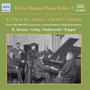 Welte-Mignon Piano Rolls 2