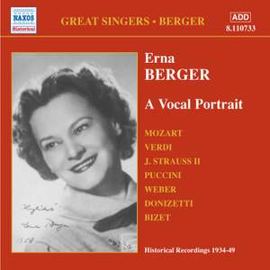 Great Singers - Erna Berger