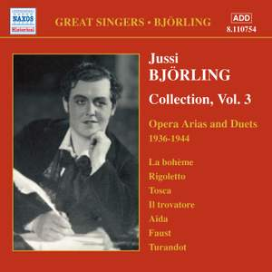 Jussi Björling Collection, Vol. 3