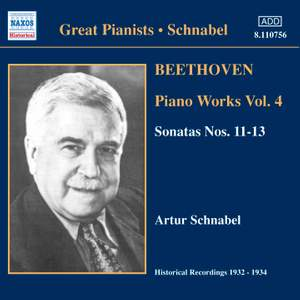 Great Pianists - Artur Schnabel Product Image