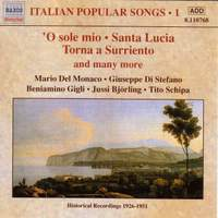Italian Popular Songs Volume 1