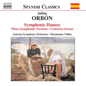 Orbón: Orchestral Works Product Image