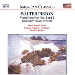 American Classics - Piston: Violin concertos