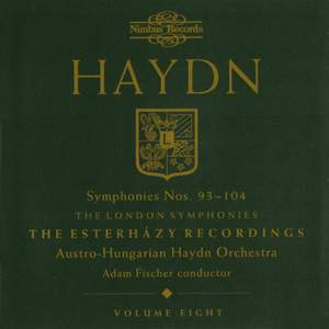 Haydn Symphonies Volume 8, Nos. 93 - 104 (the London Symphonies)