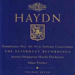 Haydn Symphonies Volume 7, Nos. 88-92, Sinfonia Concertante