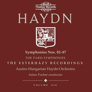 Haydn Symphonies Volume 6, Nos. 82 - 87 (the Paris Symphonies)