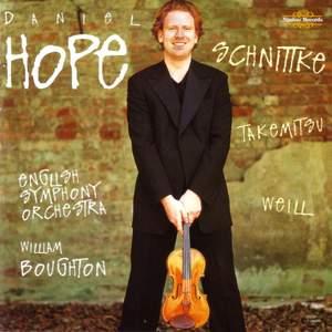 Schnittke, Weill & Takemitsu: Works for Violin & Ensemble