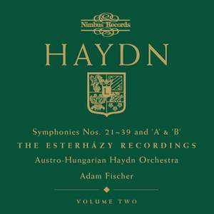 Haydn Symphonies Volume 2, Nos. 21-39 and 'A' & 'B' Product Image