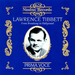 Lawrence Tibbett - From Broadway to Hollywood