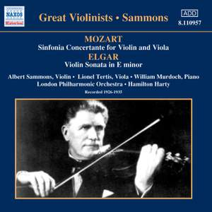 Great Violinists - Albert Sammons