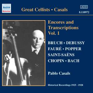 Great Cellists - Pablo Casals