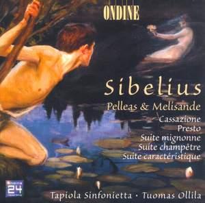 Sibelius: Presto in D major for string orchestra, etc.