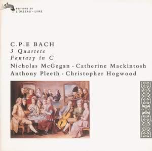 Bach, C P E: Fantasy in C major, etc.