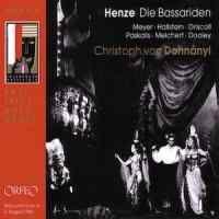 Henze, H: Die Bassariden