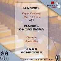Handel - Organ Concertos Volume 1