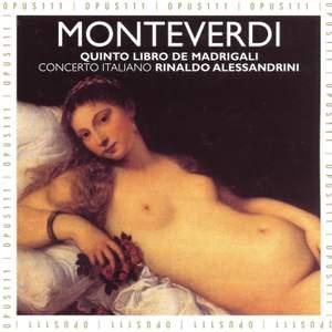 Monteverdi: Il  quinto libro de madrigali, 1605