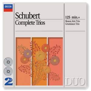 Schubert - Complete Trios