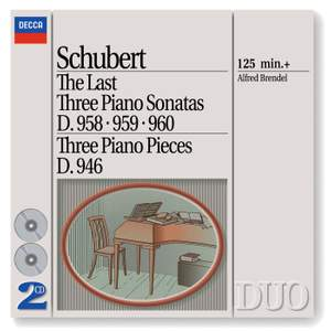 Schubert - The Last Three Piano Sonatas