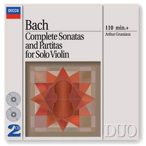 Bach - Complete Sonatas & Partitas for Solo Violin Product Image