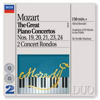 Mozart - The Great Piano Concertos, Volume 1