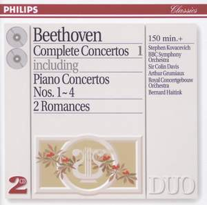 Beethoven - Complete Concertos, Volume 1 Product Image