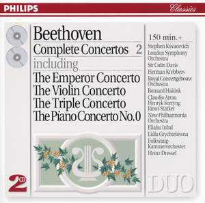 Beethoven - Complete Concertos, Volume 2