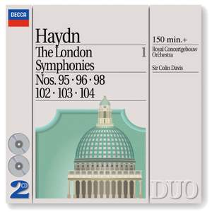 Haydn - The London Symphonies Volume 1