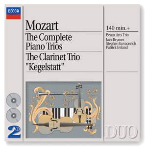 Mozart - The Complete Piano Trios & Clarinet Trio