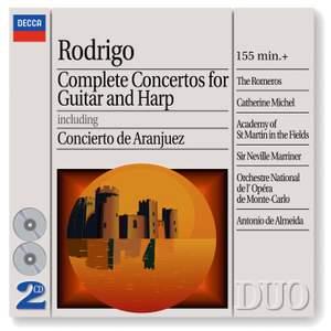 Rodrigo - Concertos for Guitar & Harp Product Image