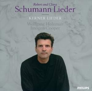 Robert and Clara Schumann - Kerner Lieder