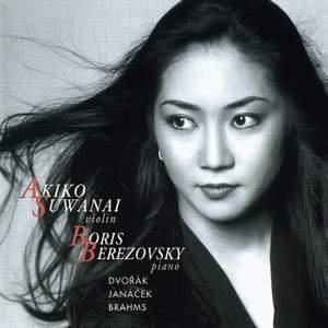 Dvorak, Janacek and Brahms: Works for Violin and Piano