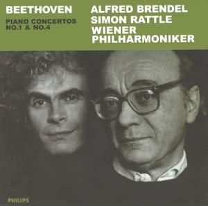 Beethoven - Piano Concertos Nos. 1 & 4 Product Image